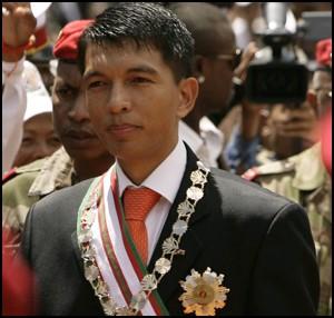 Andry Rajoelina. Républiques malgaches.