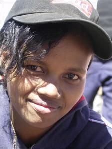 Jeune femme de l'ethnie Mérina. Origines malgaches.