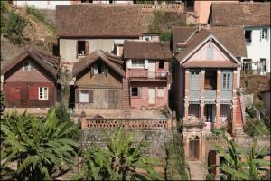 Parmi les plus vieilles maisons de Tananarive.