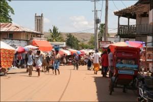 Miandrivazo est le point de départ idéal pour la descente de la rivière Tsiribihina.