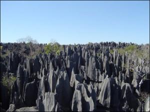 Les tsingy de Bemaraha sont classés au patrimoine de l'humanité de l'UNESCO.