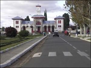 La gare d'Antsirabe.