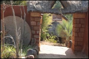 L'entrée du Lemurs'Park.