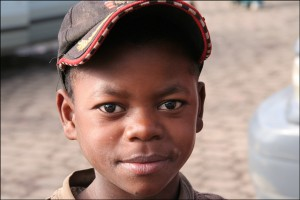 Enfant de la région du Vakinankaratra. Royaumes Malgaches.