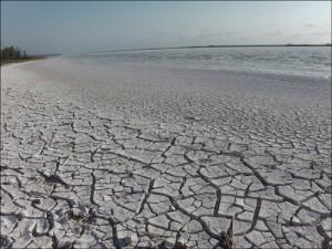 Les bord du lac Tsimanampetsotsa.