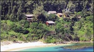 Les bungalows de l'hôtel Lavasoa sur la presqu'île de Libanona dans le grand sud.