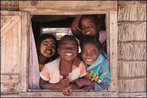 La venue d'un Vazaha dans ces petit villages côtiers est toujours un évènement. Nord Madagascar