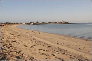 La plage de Tampolové.