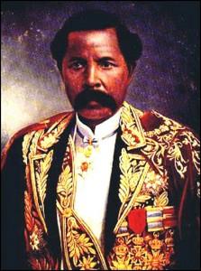 Le premier ministre Rainilaiarivony. Royaumes Malgaches.