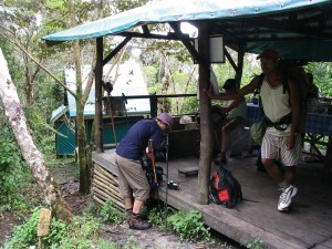 Antalaha Marojejy Masoala. Camp Simpona.