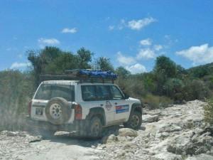 Entre Itampolo et Lavanono ar ou passe ce raid 4x4 Madagascar.
