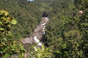 RN7 Train FCE Manakara Anakao. cascade à Ranomafana.