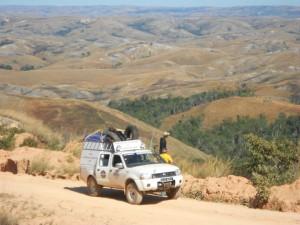 Raid 4x4 Madagascar : Piste sur le Moyen Ouest... Grandiose ! Un des plaisir du raid en 4x4 à Madagascar.