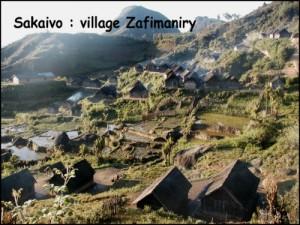 Zafimaniry Andringitra Vezo. Village de Sakaivo.