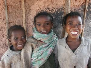 Pays Zafimaniry. Enfants .