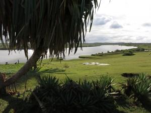 Zafimaniry Pangalanes. Le canal des Pangalanes au sud de Manakara.