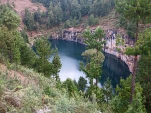 Madagascar découvertes. le lac Tritriva